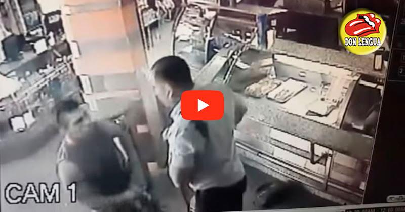 Comisario del CICPC herido de bala dentro de una panadería
