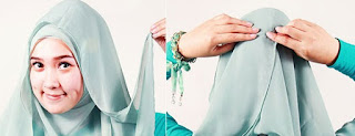 jilbab Segi Empat (4) Modern Terbaru