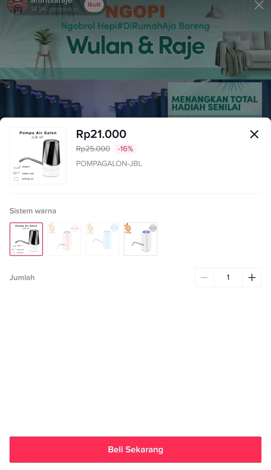 Cara Beli Barang di Official Aplikasi TikTok