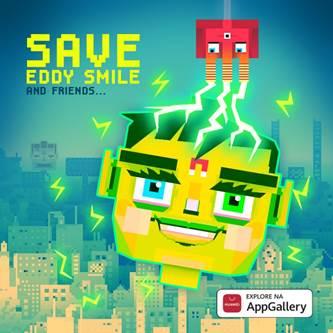 "Utilizadores da Huawei AppGallery entre os primeiros a nível global a ter acesso ao jogo ""Save Eddy Smile"""