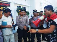 Laporan Dugaan Korupsi ADD Tak Ditanggapi Oleh Kejari Pangkep, Arjuna Demo Seorang Diri