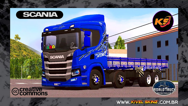 SCANIA P320 - BLUE SHARK EDITION