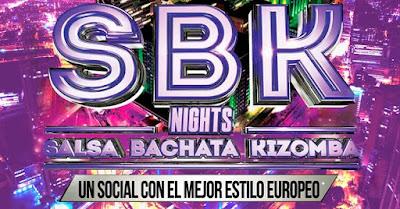 SBK NIGHTS : SALA, BACHATA Y KIZOMBA FIESTA AL MEJOR ESTILO EUROPERO