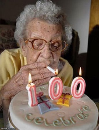You Must Be Having A Grandma Who Is Going To Celebrate 100 Years This Time Send Funny Happy Birthday Pictures For Her And See Response