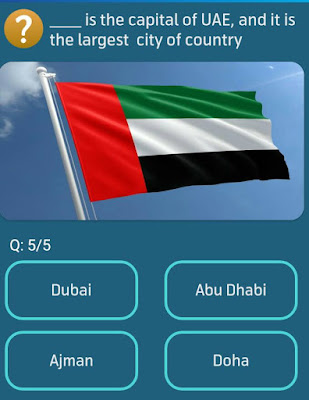 ___ is the capital of UAE, and it is the largest city of country? MY TELENOR