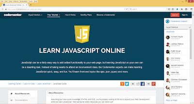 best javascript portal for beginners