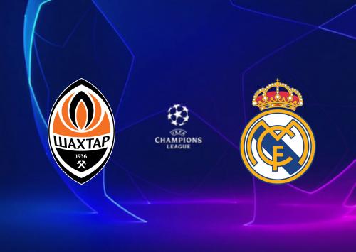 Shakhtar Donetsk vs Real Madrid -Highlights 01 December 2020