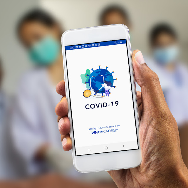 WHO announces the launch of the WHO Academy app designed to support health workers during COVID-19, and the WHO Info app designed to inform the general public.