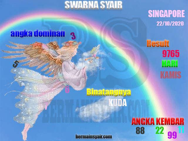 Kode syair Singapore Kamis 22 Oktober 2020 262
