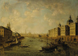 View of Moscow by Fyodor Alekseyev - Cityscape Paintings from Hermitage Museum