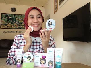 Skincare dan makeup dari Pigeon Teens