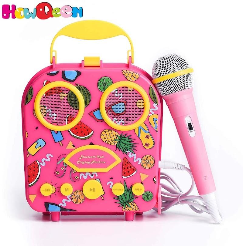 kids karaoke machine 50% off