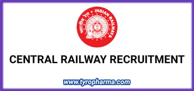 Central Railway Recruitment 2020 | Para Medical Staff 22 Vacancies