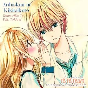 Aoba-Kun Ni Kikitaikoto