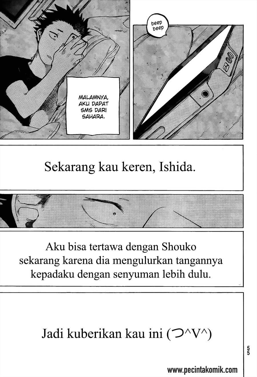 Koe no Katachi Chapter 17-20