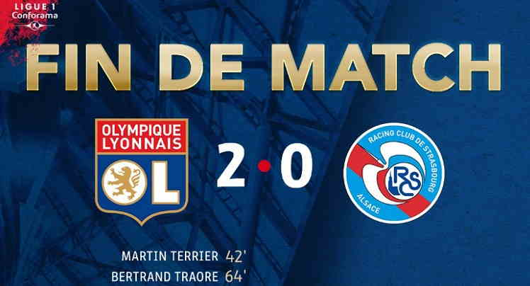 Hasil Lyon vs Strasbourg Skor Akhir 2-0 [ Ligue 1 France 2018 ]