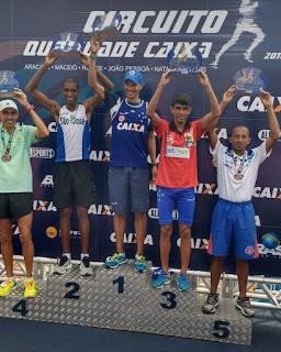 Atleta Pernambucano que representa Picuí no atletismo fica entre os primeiros em João Pessoa