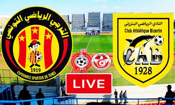 Ligue 1 Tunisie Match  ES Tunis Taraji vs CA Bizertin Live Stream
