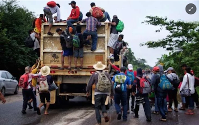 Resultado de imagen para About 100 members of the migrant caravan were kidnapped and handed over to a cartel: Oaxaca ombudsman