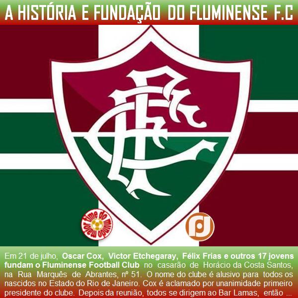 c242e9e6ce520 O maior Time do mundo  A história do Fluminense Football Club