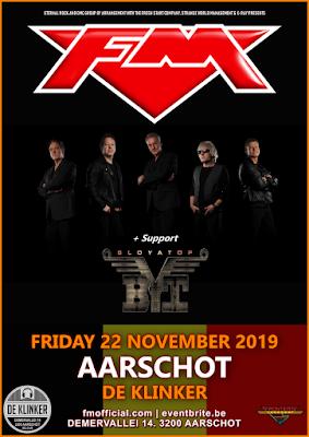 FM at Aarschot De Klinker - 22 Nov 2019 - poster