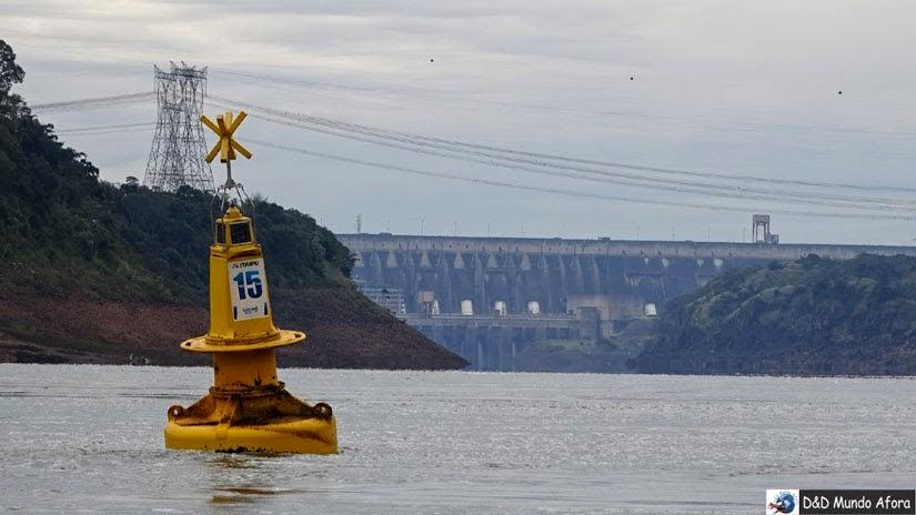 Usina de Itaipu - Brasil - Passeio Encontro das Águas