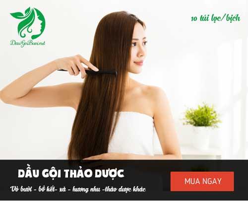 mua dầu gội bằng vỏ bưởi trị rụng tóc