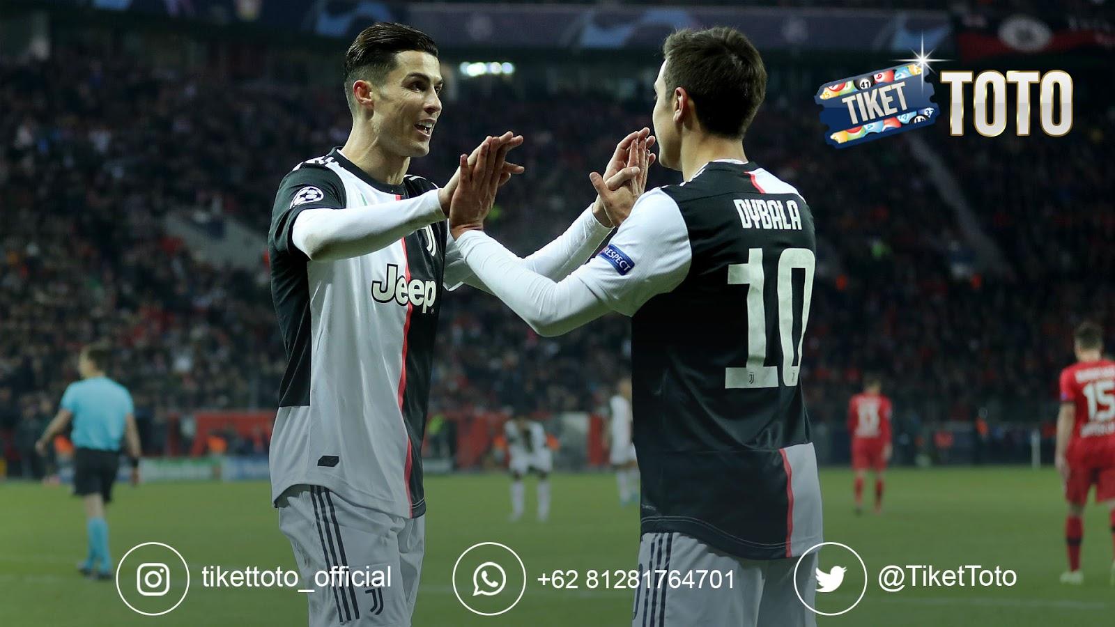 Cristiano Ronaldo dan Paulo Dybala Antar Juventus Kalahkan Bologna