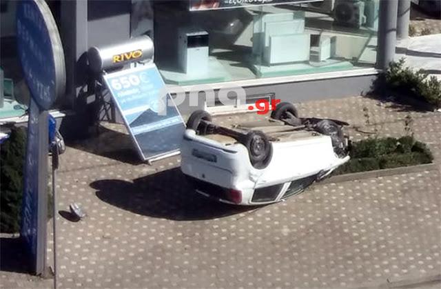 Ποδοσφαιριστής του Αστέρα έφερε τούμπες με το αυτοκίνητό του μέσα στην Τρίπολη