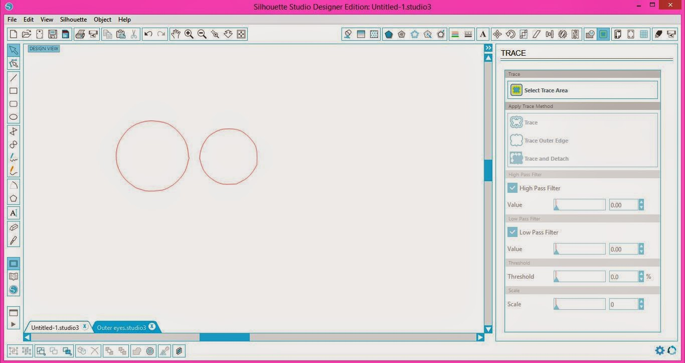 Machine embroidery, applique, Silhouette, Silhouette tutorial, release compound path