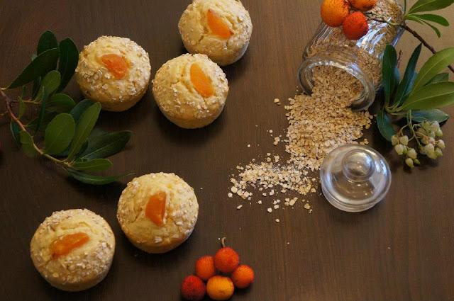 Muffins de Avena y Orejones