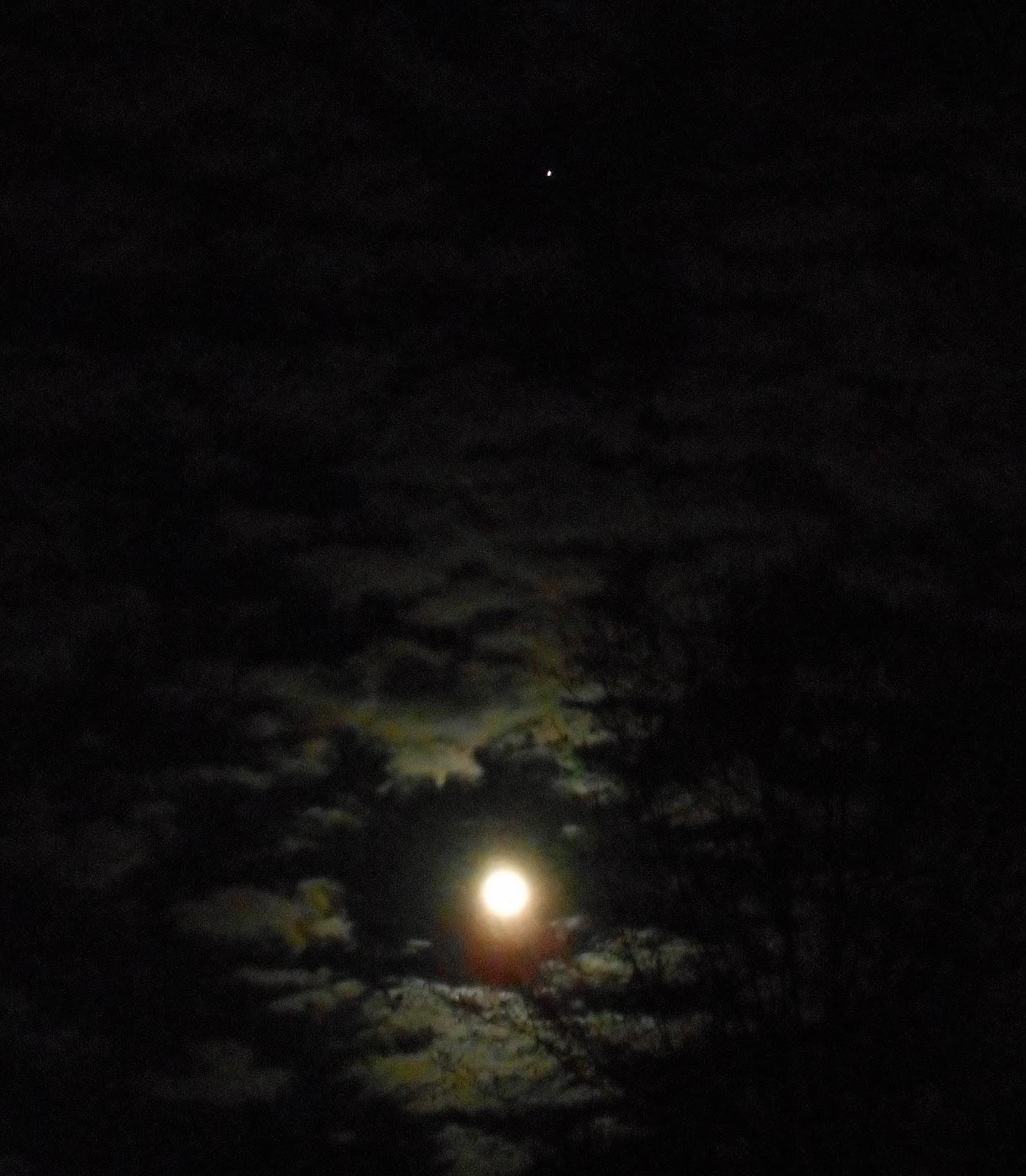 the moon and jupiter tonight - photo #9