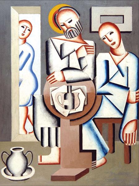 Jesús con un Discípulo, 1927