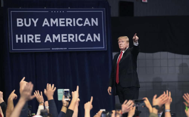 2020 Vision: TONS of Democrats Turned Out for Trump's Michigan Rally