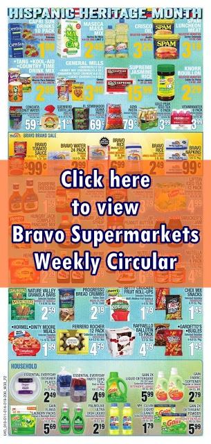 Bravo Supermarket Circular