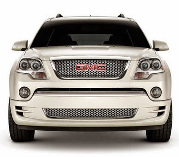 Best Sport Cars: Face Lifted GMC Acadia And Acadia Denali
