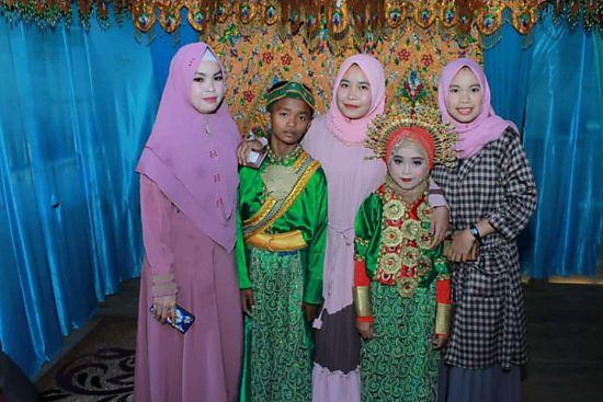 Anak Kelas 2 dan 3 SMP di Bone Menikah, Jodoh Tak Kemana