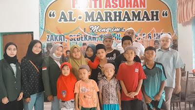 Mahasiswa Departemen Ilmu Kesejahteraan Sosial FISIP USU Edukasi Anak Panti Asuhan Al-Marhamah Medan di Tengah Pandemi