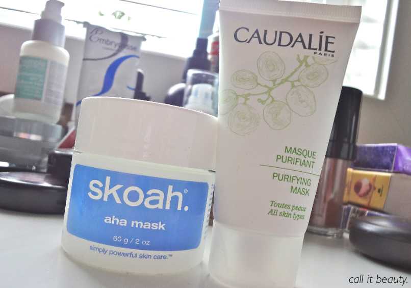 call it beauty : Skincare Week: Face Mask Friday + A Bonus Review