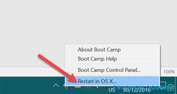 Cách lựa chọn hệ điều hành khởi động trên macOS