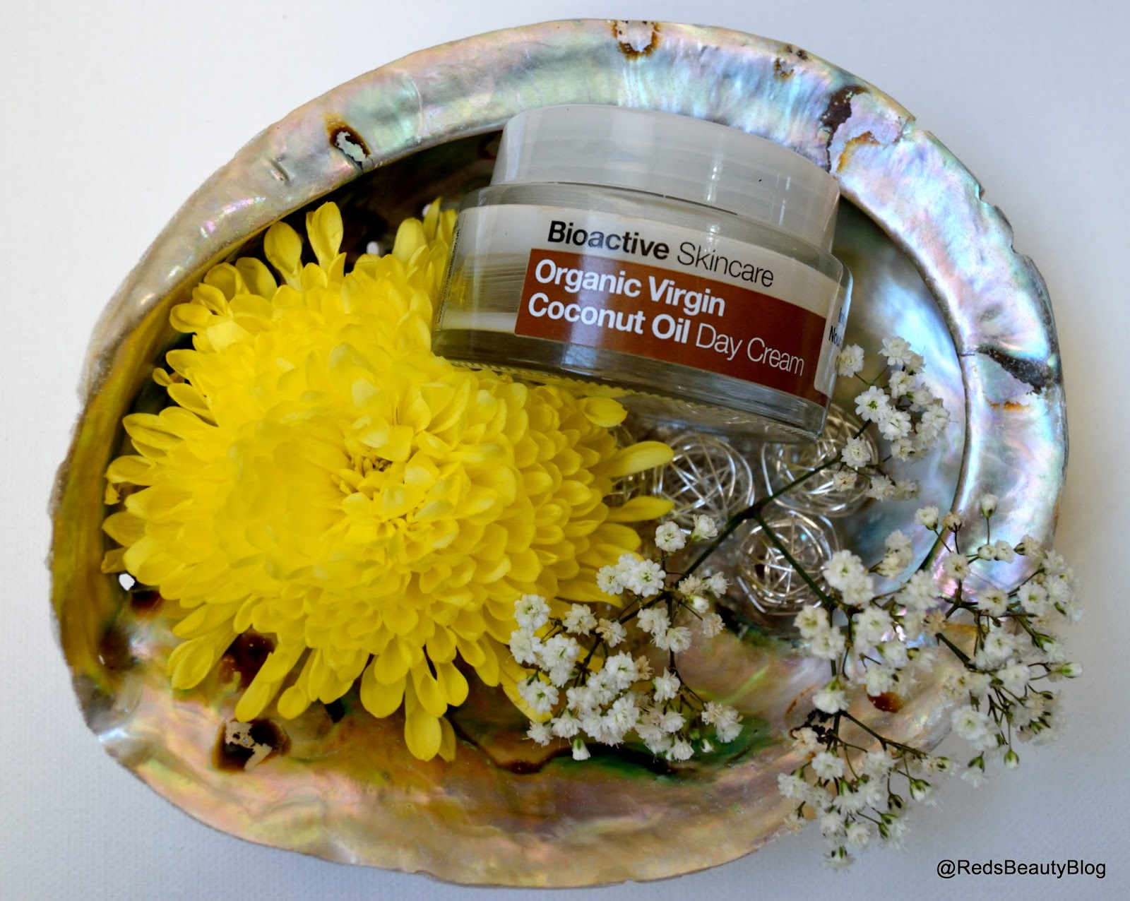 a picture of Dr Organic Coconut Day Cream