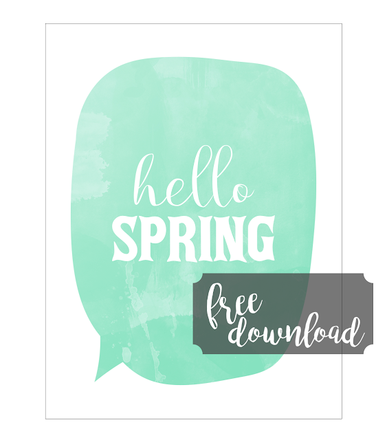 Free Hello Spring Card