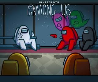 Portada promocional de Among Us creada por InnerSloth