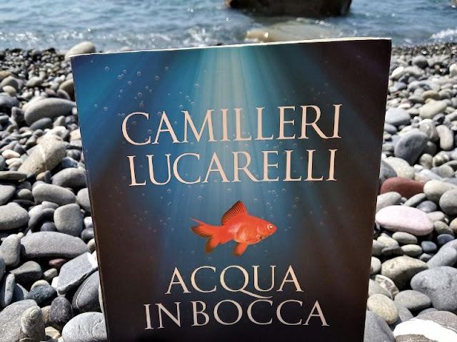 Acqua in bocca: il romanzo di Camilleri e Lucarelli