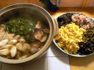 生鱈と白子の煮物 あとは4種の炒め物盛り合わせ