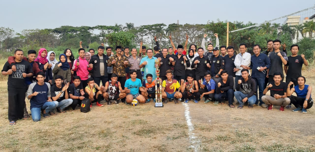 Diawali Servis AKBP R. Wahyu, Pesona Enasa Juara Final Volly PHRI