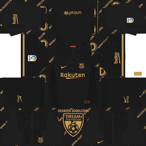 FC Barcelona Kits 2020-2021 Nike For Dream League Soccer 2019 (Away)