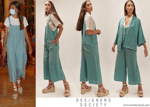 Infanta Sofia wore Designers Society Dungarees