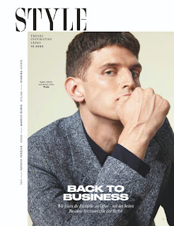 "INYIM Fashion Editorial: Entitled ""Back to Business"" With Model Andre Feulner For GQ Germany!"