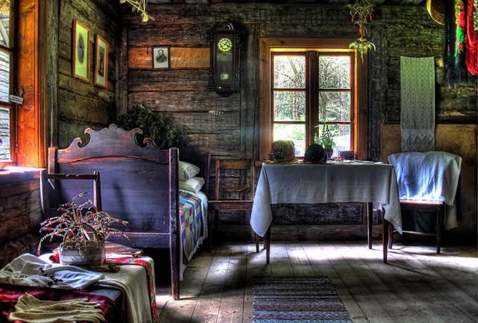 Charming Rustic Cottage House Vogue Interior Design